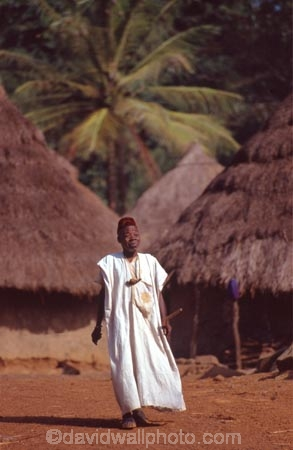 africa;african;africans;black;ethnic;male;people;person;persons;tradition;traditional;costume;costumes;traditions-costume;traditional-costumes;culture;cultural;cultures;tribe;tribes;tribal;west-africa;indigenous;native;sahel;zala;zaala;village;ivory-coast;west-africa;cote-divoire;village;mud;hut;thatched;roof;huts;villages;palm;palms;palm-tree;palm-trees;elder;old;elderly;robe;robes;single