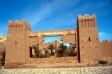 Ait-Benhaddou-Village;Southern-Atlas-Mountains;Morocco;North-Africa;moroccan;film-jesus-of-nazareth;film-set;mud;adobe;architecture;architectural;ruin;ruins;building;fort;forts;fortress