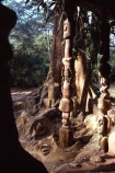 Shrine;Sacred-Forest;Oshogbo;Nigeria;West-Africa;african;nigerian;spirit;spiritual;animist;religion;religious;faith;otherworldly;negro-spiritual;occult;god;gods;worship;yoruba;suzanne-wenger;wenger