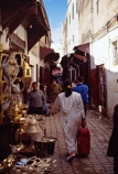 africa;african;africans;north-africa;morocco;moroccan;shop;shops;stall;stalls;market;markets;travel;fez;fes;medina;narrow;alley;alleyway;street;streets;footpath;footpaths;busy;tradition;traditional;culture;cultural;shop;shops;stall;stalls;metalwork;metal;silver;brass;copper;bronze;handmade;hand_made;hand-made;plate;plates;craft;craftwork;artisan;handcraft;handcrafts;tradesman;tradesmen;metalworker;metalworkers;metalwork-shop