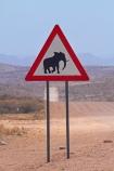 Africa;C35;Desert-Elephant;Desert-elephant-warning-sign;Desert-elephant-warning-signs;elephant-warning-sign;elephant-warning-signs;Erongo-Region;gravel-road;gravel-roads;metal-road;metal-roads;metalled-road;metalled-roads;Namib-Desert;Namibia;road;road-sign;road-signs;road-warning-sign;road-warning-signs;roads;sign;signs;Southern-Africa;Uis;warning-sign;warning-signs;wildlife-sign;wildlife-signs