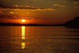 Zambezi-River;Zimbabwe;Zambia;Africa;African;Southern-Africa;sunset;sunsets;calm;calmness;peace;peaceful;peacefulness;tranquil;tranquility;reflection;reflections;orange;dark;low;river;rivers;wide;zambezi