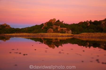 Africa;Big-Cave-Camp;boulder;boulders;Bulawayo;calm;dusk;evening;geological;geology;granite;kopje;kopjes;koppie;koppies;Matobo-Hills;Matobo-National-Park;Matopos-Hills;night;night_time;nightfall;pink;placid;pond;ponds;pool;pools;quiet;reflected;reflection;reflections;rock;rock-formation;rock-formations;rock-outcrop;rock-outcrops;rock-tor;rock-torr;rock-torrs;rock-tors;rocks;serene;smooth;Southern-Africa;still;stone;sunset;sunsets;tranquil;twilight;unusual-natural-feature;unusual-natural-features;water;Zimbabwe