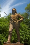 16-November-1855;Africa;David-Livingstone;Dr-Livingstone;explorer;explorers;Livingstone;public-statue;public-statues;Southern-Africa;statue;statues;V.F.;VF;Vic-Falls;Vic.-Falls;Victoria-Falls;Zimbabwe