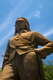 16-November-1855;Africa;David-Livingstone;explorer;explorers;public-statue;public-statues;Southern-Africa;statue;statues;V.F.;VF;Vic-Falls;Vic.-Falls;Victoria-Falls;Livingstone;Dr-Livingstone;Zimbabwe