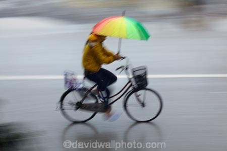 Asia;bicycle;bicycles;bike;bikes;blur;blurred;blurry;brollies;brolly;cycle;cycler;cyclers;cycles;cyclist;cyclists;Ninh-Binh;Ninh-Bình-province;Ninh-Hai;Northern-Vietnam;people;person;push-bike;push-bikes;push_bike;push_bikes;pushbike;pushbikes;rain;raining;rainy;South-East-Asia;Southeast-Asia;speed-blur;street;street-scene;street-scenes;streets;umbrella;umbrellas;Van-Lam-Village;Vietnam;Vietnamese