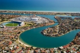AAMI-Stadium;Adelaide;aerial;aerial-photo;aerial-photography;aerial-photos;aerial-view;aerial-views;aerials;Australasian;Australia;Australian;Football-Park;Gulf-Saint-Vincent;Gulf-St-Vincent;Gulf-St.-Vincent;lagoon;Ocean;Port-Adelaide;S.A.;SA;Sea;South-Australia;Stadium;Stadiums;waterway;waterways;West-Lakes;West-Lakes-Mall