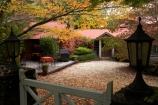 Australia;autuminal;autumn;autumn-colour;autumn-colours;autumnal;Blue-Mountains;cafe;cafes;Chimney-Cottage-Cafe;Chimney-Cottage-Heritage-Cafe;color;colors;colour;colours;deciduous;fall;gate;lamp;leaf;leaves;Mount-Wilson;Mt-Wilson;Mt.-Wilson;N.S.W.;New-South-Wales;NSW;Queens-Ave;Queens-Avenue;season;seasonal;seasons;tree;trees