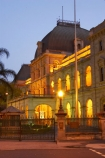 architecture;australasia;Australia;australian;Brisbane;building;buildings;dark;dusk;floodlighting;floodlit;grand;heritage;Historic;Historic-Parliament-House,-Bris;historical;illuminate;illuminated;night;night-time;old;Parliament-House;Queensland;twilight