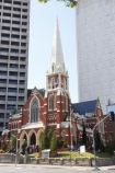 Albert-Street-Uniting-Church-Me;Australia;Brisbane;cathedral;church;churches;historic;historical;Presbyterian;Queensland;religion;religions;spire;spires