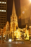 Albert-Street-Uniting-Church-Me;Australia;Brisbane;cathedral;church;churches;floodlighting;floodlit;historic;historical;illuminate;illuminated;illumination;night;night-time;Presbyterian;Queensland;religion;religions;spire;spires