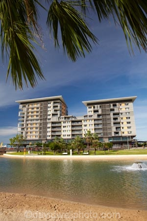 apartment;apartments;Australasian;Australia;Australian;beach;beaches;coast;coastal;coastline;Darwin;Darwin-Waterfront;Darwin-Waterfront-Precinct;fountain;fountains;lagoon;lagoons;N.T.;Northern-Territory;NT;palm-tree;palm-trees;Recreation-Lagoon;residential;residential-apartment;residential-apartments;residential-building;residential-buildings;sand;sandy;shore;shoreline;swimming-lagoon;Top-End;Wharf-One