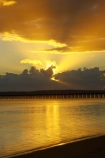 australasia;Australia;australian;coast;coastal;coastline;color;colors;colour;colours;dawn;Fraser-Coast;Hervey-Bay;jetties;jetty;orange;pier;piers;queensland;ray;rays;silhouette;silhouettes;sun-rays;sunrays;sunrise;Urangan-pier;wharf;wharfs;wharves