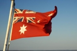 australasia;Australia;australian;Australian-Red-Ensign;blow;blowing;cruise;ferries;ferry;Flag;flags;flutter;Fraser-Island;icon;icons;Maritime;maritime-flag;Queensland;red-ensign;star;stars;symbol;symbols;union-jack;wind;windy