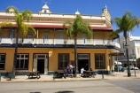 1889;accomodation;architectural;architecture;australasia;Australia;australian;balcony;building;buildings;character;colonial;drinkers;heritage;historic;historical;hotel;hotels;Maryborough;old;palm;palm-tree;palm-trees;palms;patrons;Post-Office-Hotel;pub;pubs;Queensland;two-storey;two-storeys