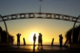 australasia;Australia;beach;beaches;dawn;Gold-Coast;ocean;pacific-ocean;queensland;silhouette;silhouettes;sunrise;sunrises;surfers-paradise;tasman-sea;tourism;travel;twilight;vacation;vacations