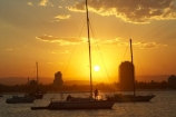 australasia;Australia;boat;boats;Broadwater;coast;coastal;dusk;Gold-Coast;inlet;inlets;main-beach;marina;marinas;mariners-cove;mast;masts;pacific-ocean;queensland;silhouette;silhouettes;southport;sunset;sunsets;surfers-paradise;the-broadwater;twilight;yacht;yachts