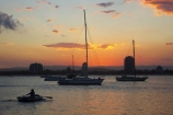 australasia;Australia;boat;boats;Broadwater;coast;coastal;dinghies;dinghy;dinghys;dusk;Gold-Coast;inlet;inlets;main-beach;marina;marinas;mariners-cove;mast;masts;pacific-ocean;queensland;silhouette;silhouettes;southport;sunset;sunsets;surfers-paradise;the-broadwater;twilight;yacht;yachts