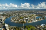 Aus;Australia;Australian;Gold-Coast;Nerang-River;observation-deck;Q1;Q1-Skyscraper;QLD;Queensland;river;rivers;Roma-Park;Sky-Point;SkyPoint;Surfers-Paradise;View;viewing-deck;waterways;waterways-development