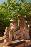 Australasian;Australia;Australian;Halls-Creek;Kimberley;Kimberley-Region;memorial;Memorial-Park;memorials;pioneer-memorial;Russian-Jack-Memorial;statue;statues;The-Kimberley;W.A.;WA;West-Australia;Western-Australia;wheelbarrow-statue