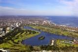 aerial;aerials;albert-park;Albert-Park-Lake;australasia;Australia;australian;australian-grand-prix-track;formula-one;lakes;Melbourne;Port-Phillip-Bay;victoria