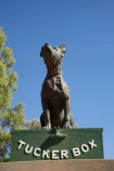 australasia;Australasian;Australia;australian;Dog-on-the-Tucker-Box;Dog-on-the-Tucker-Box-Statue;Dog-on-the-Tuckerbox;Dog-on-the-Tuckerbox-Statue;Gundagai;memorial;memorials;N.S.W.;New-South-Wales;NSW;South-New-South-Wales;South-West-Slopes;Southern-New-South-Wales;statue;statues