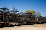 Alice-Springs;Australasia;Australia;Australian;Australian-Outback;car-transporter;carriage;carriages;cars;Central-Australia;Ghan;Ghan-Rail-Line;Ghan-Railroad;Ghan-Railway;Ghan-Train;N.T.;Northern-Territory;NT;Outback;The-Ghan;vehicle-transporter;vehilces;wagon;wagons