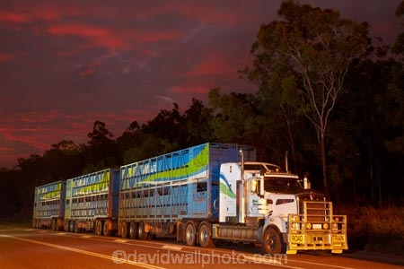 Australasia;Australia;cattle-truck;cattle-trucks;dusk;Emerald-Springs-Road-House;Emerald-Springs-Roadhouse;evening;highway;highways;juggernaut;juggernauts;lorries;lorry;N.T.;nightfall;Northern-Territory;NT;orange;road;road-train;road-trains;road_train;road_trains;roads;roadtrain;roadtrains;sky;Stuart-Highway;sunset;sunsets;Top-End;transport;transportation;truck;trucks;twilight;vehicle;vehicles