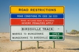 arid;Australasia;Australasian;Australia;Australian;Australian-Desert;Australian-Deserts;Australian-Outback;back-country;backcountry;backwoods;country;countryside;danger;desert;Deserts;dry;hot;Outback;red-centre;remote;remote-area-warning-sign;remote-area-warning-signs;remote-road-warning-sign;remote-road-warning-signs;remoteness;road-conditions;road-sign;road-signs;rural;S.A.;SA;sand;sign;signs;South-Australia;warning-sign;warning-signs;Birdsville-Track;Marree
