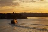 Australasia;Australia;boat;boats;break-of-day;dawn;dawning;daybreak;ferries;ferry;first-light;Manly-Ferry;morning;N.S.W.;New-South-Wales;NSW;orange;passenger-ferries;passenger-ferry;sunrise;sunrises;sunup;Sydney;Sydney-Harbor;Sydney-Harbour;transport;transportation;travel;twilight;vessel;vessels;water