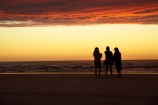 Australasian;Australia;Australian;beach;beaches;coast;coastal;coastline;dusk;evening;Island-of-Tasmania;nightfall;Ocean-Beach;orange;people;person;sand;sandy;shore;shoreline;silhouette;silhouettes;sky;Southern-Ocean;State-of-Tasmania;Strahan;sunset;sunsets;Tas;Tasmania;The-West;twilight;West-Tasmania;Western-Tasmania