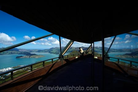 Banks-Peninsula;Canterbury;Chch;Christchurch;gondola-top-station;harbor;harbors;harbour;harbours;Lyttelton-Harbor;Lyttelton-Harbour;Mount-Cavendish;Mount-Cavendish-Gondola;Mt-Cavendish;Mt-Cavendish-Gondola;N.Z.;New-Zealand;NZ;people;person;Port-Hills;reflection;reflections;S.I.;SI;South-Is;South-Island;Sth-Is;top-station;tourism;tourist;tourists