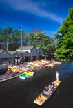 boat;boats;christchurch;gondola;gondolier;historical;n.z;n.z.;new-zealand;nz;poler;punting-avon-historic-antigua-boat-sheds;rivers;stream;streams;tourism;tourist