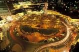 car-lights;trails;light;lights;city;nightlife;time-exposure;Charles-Henry-Kettle;St-Pauls-Cathedral;centre;cbd;civic-centre;octagonal;Hoyts;Princes-Street