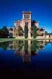 architecture;castles;historic;historical;otago-peninsula;pond;reflection