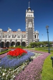 1906;architecture;bloom;blooming;blooms;building;buildings;clock;clock-tower;clock-towers;color;colorful;colors;colour;colourful;colours;council-gardens;Dunedin;Dunedin-Railway-Station;Flemish-Renaissance-style;floral;flower;flower-bed;flower-beds;flower-garden;flower-gardens;flowers;fresh;garden;gardens;George-A-Troup;Gingerbread-George;grow;growth;heritage;historic;historic-building;historic-buildings;historical;historical-building;historical-buildings;history;N.Z.;New-Zealand;NZ;old;Otago;rail-station;rail-stations;railway;railway-station;railway-stations;railways;renew;S.I.;season;seasonal;seasons;SI;South-Is.;South-Island;spring;Spring-Flowers;springtime;tradition;traditional;train-station;train-stations;tulip;tulips