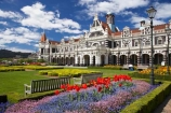 1906;architecture;building;buildings;city-gardens;clock;clock-tower;clock-towers;color;colorful;colors;colour;colourful;colours;council-gardens;Dunedin;Dunedin-Railway-Station;Flemish-Renaissance-style;floral;flower;flower-bed;flower-beds;flower-garden;flower-gardens;flowers;garden;gardens;George-A-Troup;Gingerbread-George;heritage;Historic;historic-building;historic-buildings;historical;historical-building;historical-buildings;history;New-Zealand;old;Otago;rail-station;rail-stations;railway;Railway-Station;railway-stations;railways;red;South-Island;tradition;traditional;train-station;train-stations;tulip;tulips