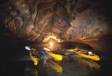 adventure;beach;cavern;caverns;caves;grotto;grottos;kayak;ocean;pink-cathedral