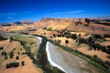 aerials;rivers;riverbed;hill-country;shingle;gravel;river-course;scenic;country;countryside;peaks;hills;river-valley