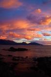break-of-day;calm;cloud;clouds;coast;coastal;coastline;coastlines;coasts;dawn;dawning;daybreak;first-light;Kaikoura;Kaikoura-Coast;Kaikoura-Range;Kaikoura-Ranges;Marlborough;morning;New-Zealand;NZ;ocean;oceans;orange;Pacific-Ocean;pink;placid;quiet;reflected;reflection;reflections;S.I.;sea;seas;Seaward-Kaikoura-Range;Seaward-Kaikoura-Ranges;serene;shore;shoreline;shorelines;shores;smooth;South-Is;South-Island;Sth-Is;still;sunrise;sunrises;sunup;tranquil;twilight;water