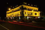 hotels;accommodation;pub;pubs;historic;historical;colonial;night;time-exposure;lights;light;traffic