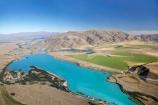 aerial;aerial-photo;aerial-photography;aerial-photos;aerials;aqua;Benmore-Range;blue;canal;canals;Canterbury;generator;hydro-canal;hydro-canals;hydro-generation;hydro-power;hydro-power-scheme;Kelland-Pond;Kelland-Ponds;lake;Lake-Ruataniwha;lakes;Mackenzie-Country;N.Z.;New-Zealand;NZ;Ohau-Canal;range;ranges;SI;South-Canterbury;South-Island;teal;turquoise;Twizel;Wairepo-Arm