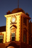 architecture;clock-tower;clock_tower;clocktower;dark;flood-lights;Historic;historic-Post-Office;historical;new-zealand;night;north-is.;north-island;old;Tauranga