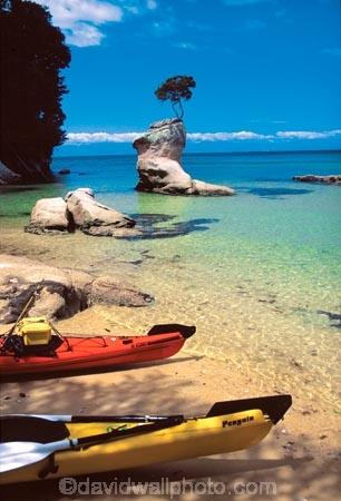coast;coastal;coastline;shore;shoreline;shore-line;coast-line;sea;water;kayak;kayaks;kayaking;island;islands;bush;tranquil;tranquility;peaceful;peace;peacefulness;beach;beaches;sand;colour;colours;color;colors;yellow;blue;green;aqua;paddle;paddles;paddling;clear;tinline-bay;Abel-Tasman-National-Park;Abel-Tasman;National-Park;National-Parks