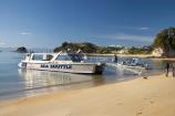 beach;beaches;boat;boats;coast;coastal;coastline;Golden-Sand;Kaiteriteri;N.Z.;Nelson-Region;New-Zealand;NZ;ocean;oceans;S.I.;sand;sandy;sea;Sea-Shuttle-Water-Taxi;seas;shore;shoreline;SI;South-Is.;South-Island;Tasman-Bay;tour-boat;tour-boats;tourism;tourist;tourist-boat;tourist-boats;water;water-taxi;water-taxis