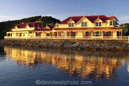 architecture;Bay-of-Islands;dawn;Early-light;Fullers;Fullers-Building;holiday;holidaying;holidays;new-zealand;north-is.;north-island;Northland;ocean;Paihia;reflection;reflections;sea;seaside;settlement;sunrise;tourism;tourist;township;travel;traveling;travelling;vacation;vacationing;vacations