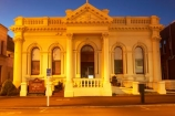 1906;achitectural;architecture;building;buildings;council-chambers;dusk;evening;heritage;heritage-precinct;historic;historic-building;historic-buildings;historical;historical-building;historical-buildings;history;light;lights;night;night-time;north-otago;old;twilight;waitaki;waitaki-district