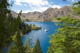 Benmore-Dam;boat;boats;Lake-Benmore;larch;larch-tree;larch-trees;larches;larix;Larix-decidua;N.Z.;New-Zealand;North-Otago;NZ;Otago;SI;South-Island;Waitaki-District;Waitaki-Valley;yacht;yachts