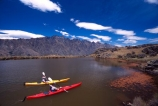 kayak;kayaks;kayaker;kayakers;water;paddle;paddler;paddlers;paddling;paradise;beautiful;lakes;lake;adventure;adventure-tourism;recreation;outdoors;outdoor;outside;relax;relaxing;yellow;boat;pristine;summer;holiday;holidays;vacation;vacations;deer-park-heights;deer-park;the-remarkables;remarkables;queenstown;south-island;new-zealand;tarn;tarns;pond;ponds;sea-kayak;sea-kayaks;red;two;pair;mountain;mountains