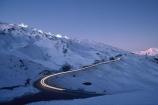 car;cars;dusk;headlight;headlights;light-trails;mountain;mountains;night-skiing;road;roads;ski;ski-area;ski-field;skier;skiers;skifield;skiing;snow;snowboard;snowboarder;snowboarders;snowboarding;twilight;winter